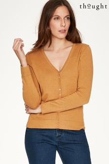 Thought Yellow Loren Cardigan