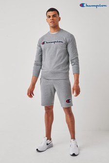 Champion Grey Crew Jumper