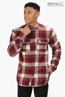 Regatta Red Tygo Long Sleeve Shirt