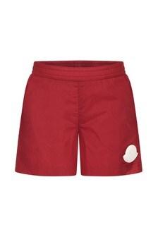Moncler Enfant Baby Boys Red Swim Shorts