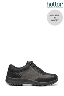 Hotter Grey Mist GTX Wide Fit Lace-Up Shoes