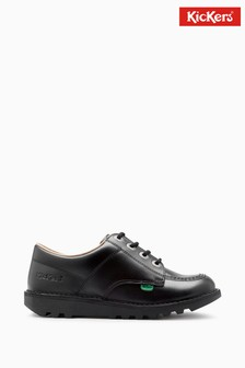 Kickers Kick Lo Leather Shoes