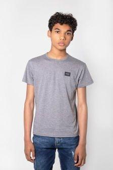 Boys Grey Jersey Top