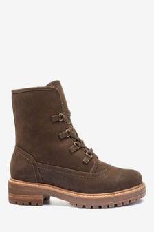 Fur Lined Boots | Stylish Fur \u0026 Borg