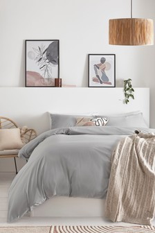 Antibacterial Cotton Rich Duvet and Pillowcase Set