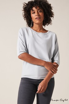 Phase Eight Sage Cali Chain Insert Knit Jumper