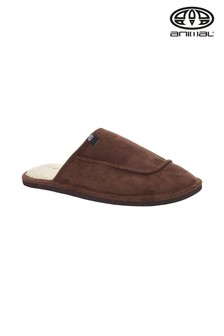 Animal Brown Halfpipe Slippers