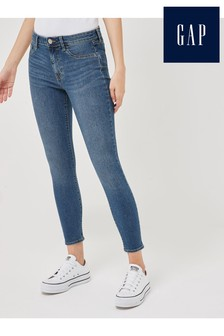 Gap Mid Blue Cropped Jeggings