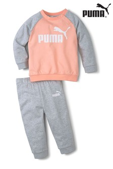 Puma Mini T-Shirt And Joggers Set