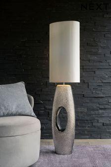 Chrome Quinn Floor Lamp