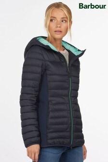 Barbour® Coastal Navy Padded Saltburn Jacket