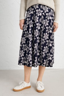 Seasalt Blue Sea Mist Skirt