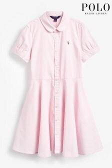 Ralph Lauren Pink Oxford Dress