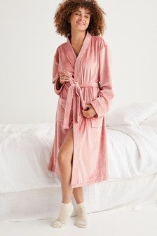 Soft Ribbed Robe
