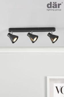 Dar Lighting Diza 3 Light Bar Spotlight