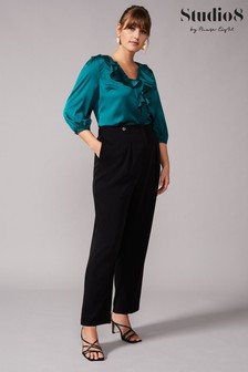 Studio 8 Black Jennifer Tapered Trousers
