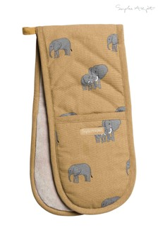 Sophie Allport Elephant Double Oven Glove