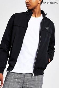 River Island Black Dyer Jacket