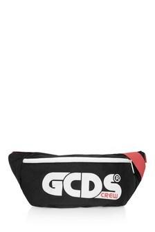 Kids Black Logo Bum Bag