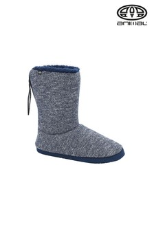 Animal Blue Bollo Slipper Boots