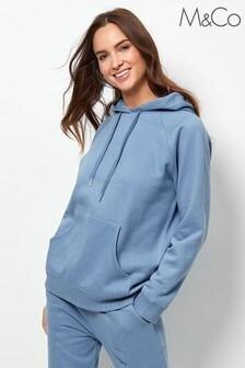 M&Co Blue Drawstring Hoody