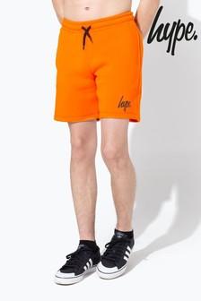 Hype. Orange Basic Jog Shorts