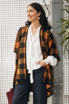 Mix/Madeleine Thompson Check Cape