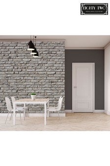 Exclusive To Next Distressed Bricks Wall Mural by Eighty Two