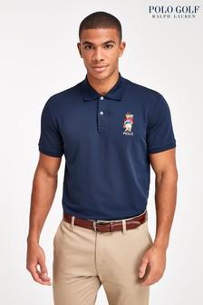 Polo Golf by Ralph Lauren Navy Bear Poloshirt
