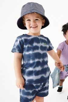 Tie Dye T-Shirt And Shorts Set (3mths-7yrs)