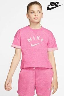 Nike Fleece Crop Crew Sweater