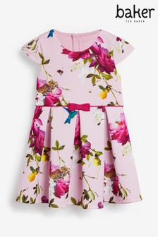 Baker by Ted Baker Girls Floral Prom Dress