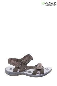 Cotswold Brown Highworth Sandals