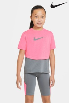 Nike Performance Pink Trophy Short Sleeve T-Shirt