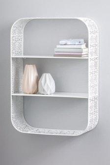 Ornate Metal Shelf