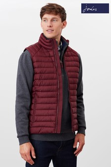 Joules Red Go To Gilet Lightweight Barel Gilet