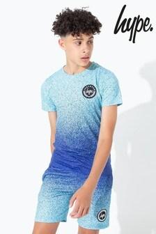 Hype. Mint Speckle Fade Kids T-Shirt