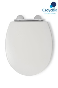 Croydex Lugano Wooden Moulded Toilet Seat