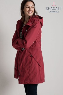 Seasalt Red Spinnaker Coat