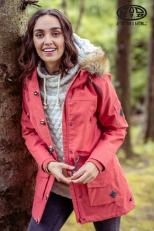 Animal Red Viva Winta 3-In-1 Parka