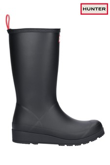 Hunter Black Original Play Tall Wellington Boots