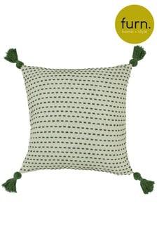 Furn Green Ezra Cushion