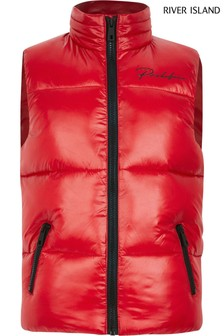 River Island Red Prolific Gilet