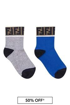 Fendi Kids Socks 2 Pack