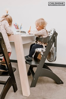 Baby Grow Lambda 3 High Chair with Tray and Cover Anthracite