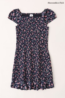 Abercrombie & Fitch Floral Smock Dress