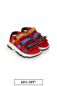 Dolce & Gabbana Kids Leather Sandals