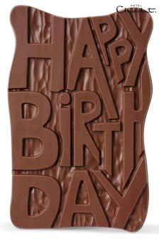 Happy Birthday Slab by Hotel Chocolat