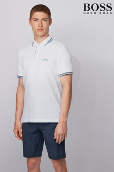 BOSS Natural Paul Curved Poloshirt
