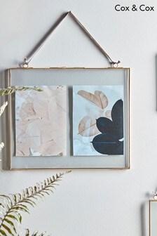 Cox & Cox Delicate Landscape Glass Frame